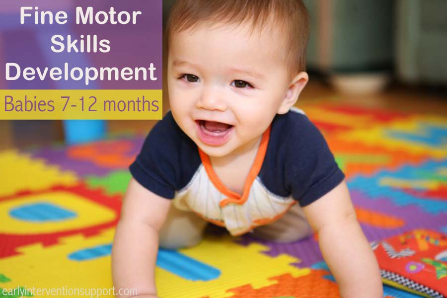 12 month fine motor skills milestones development skills for Small motor activities for infants