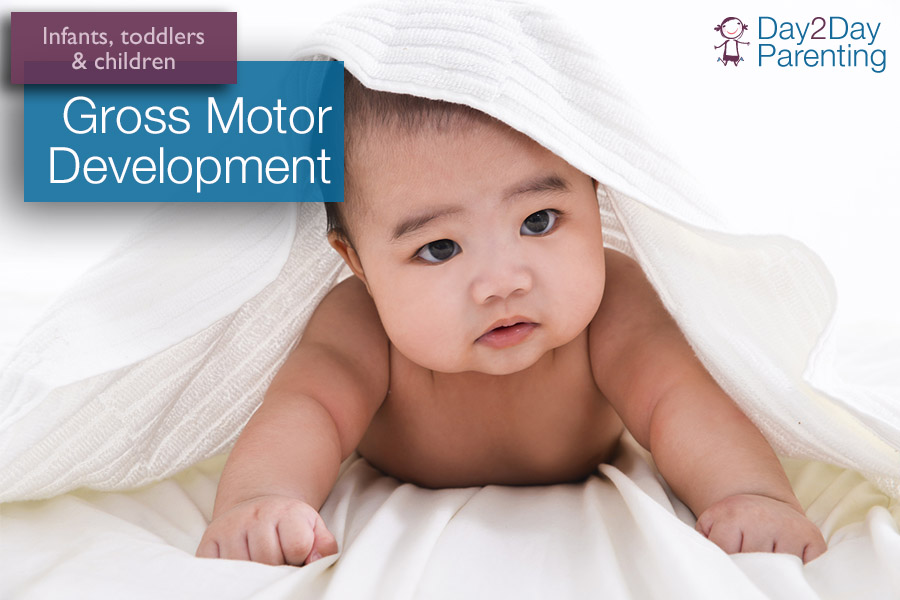 Gross Motor Development Skills For Infants And Toddlers
