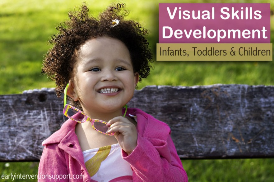 visual development babies