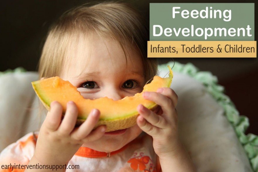 feeding development babies
