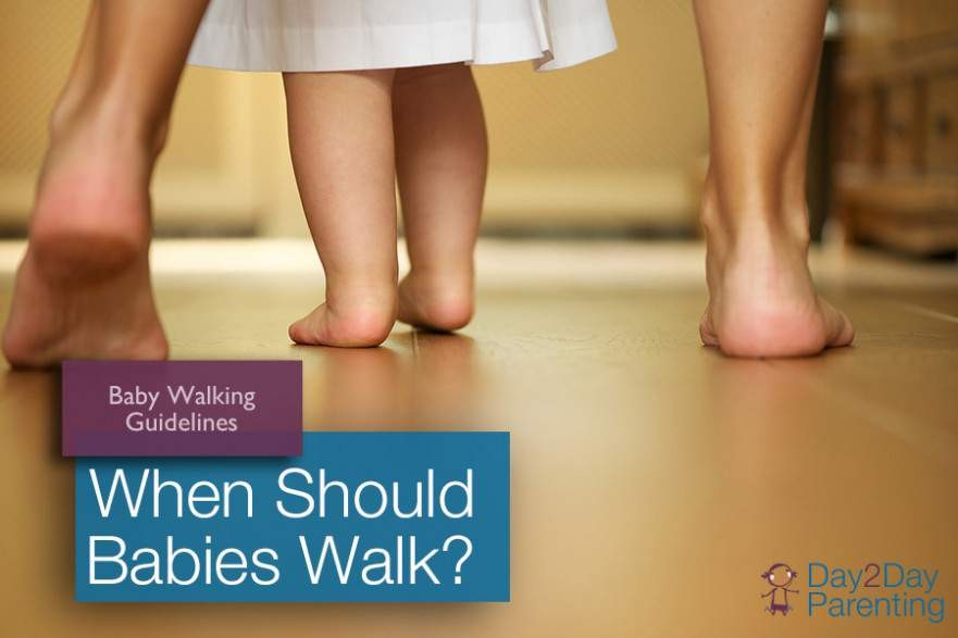 When should baby start walking