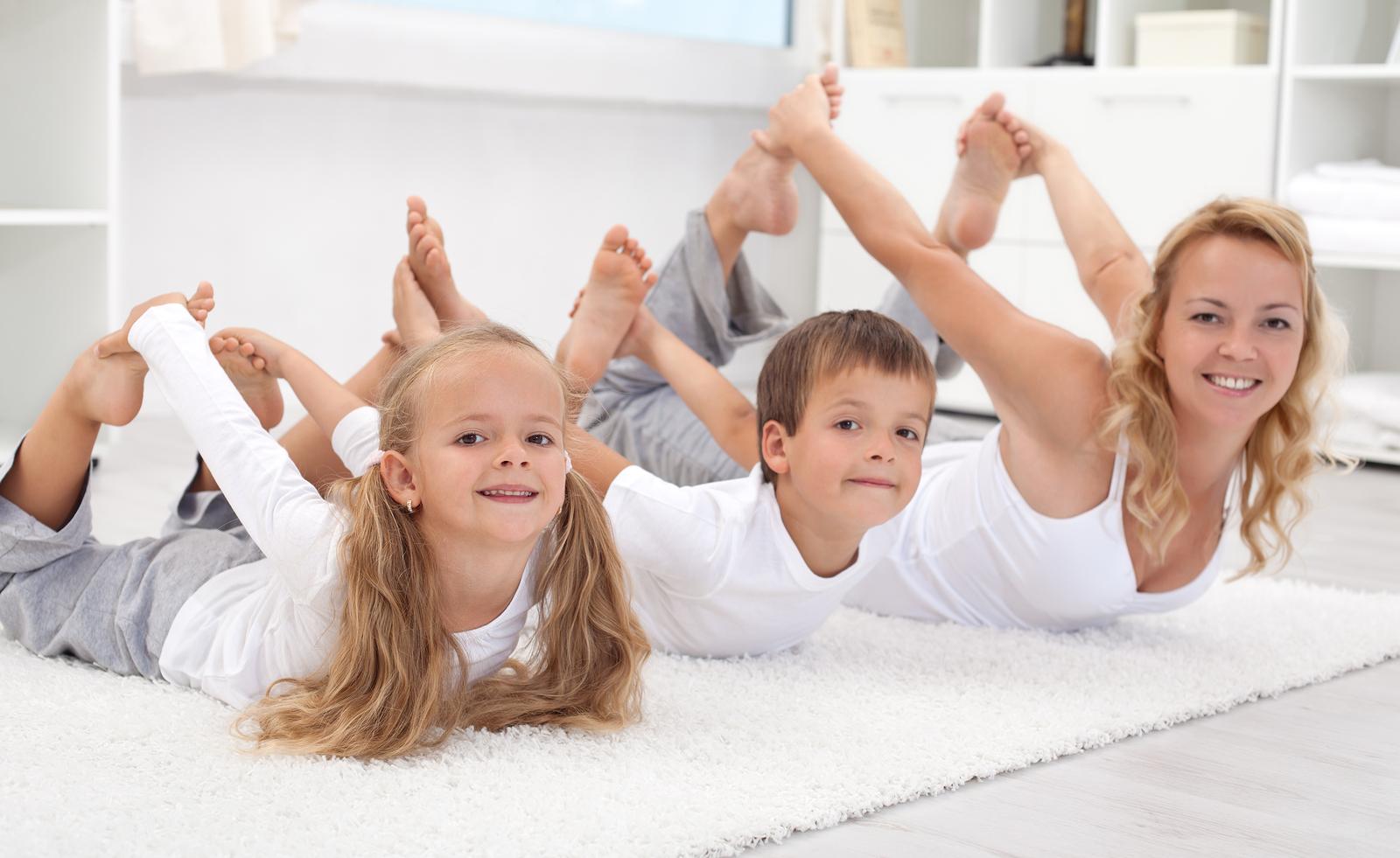 kids and yoga
