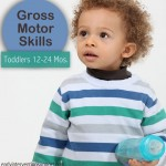 Gross Motors Skills for Toddlers Aged 12 – 24 Months