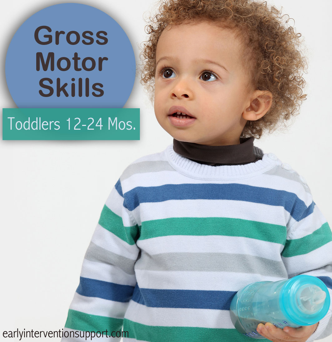 Gross motor skills milestones for toddlers 12 24 months for Gross motor activities for 1 year olds