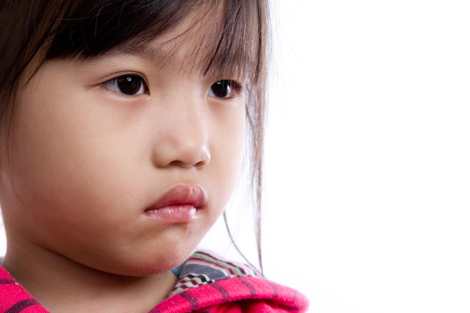 child with hearing loss