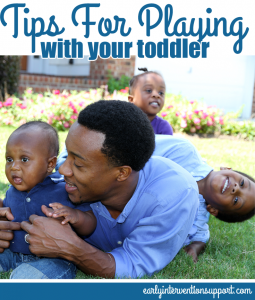 tips for playing with your toddler