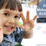 Fine Motor Skills: Finger Isolation