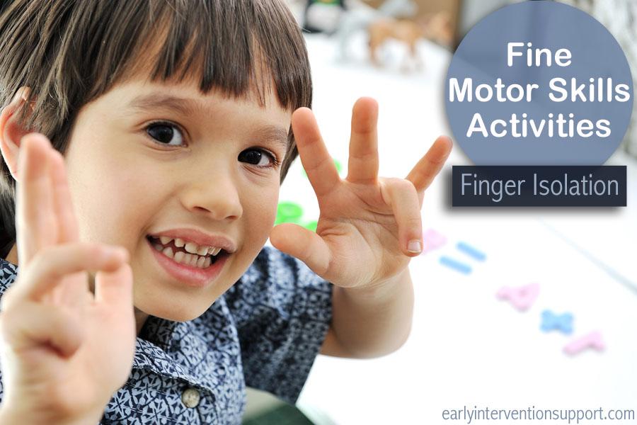 fine motor skills infants