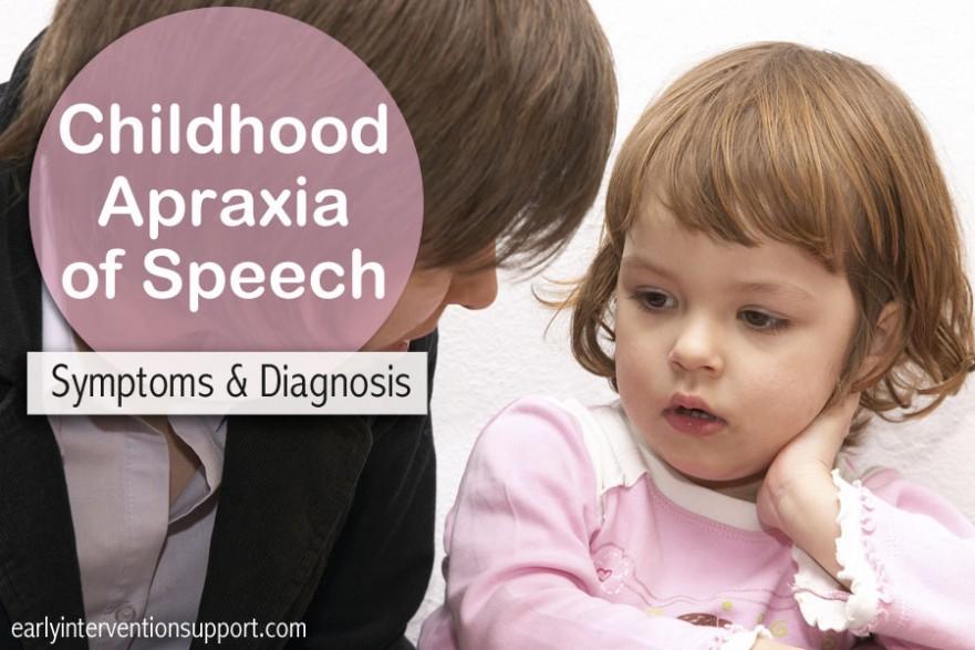 dyspraxia, childhood apraxia