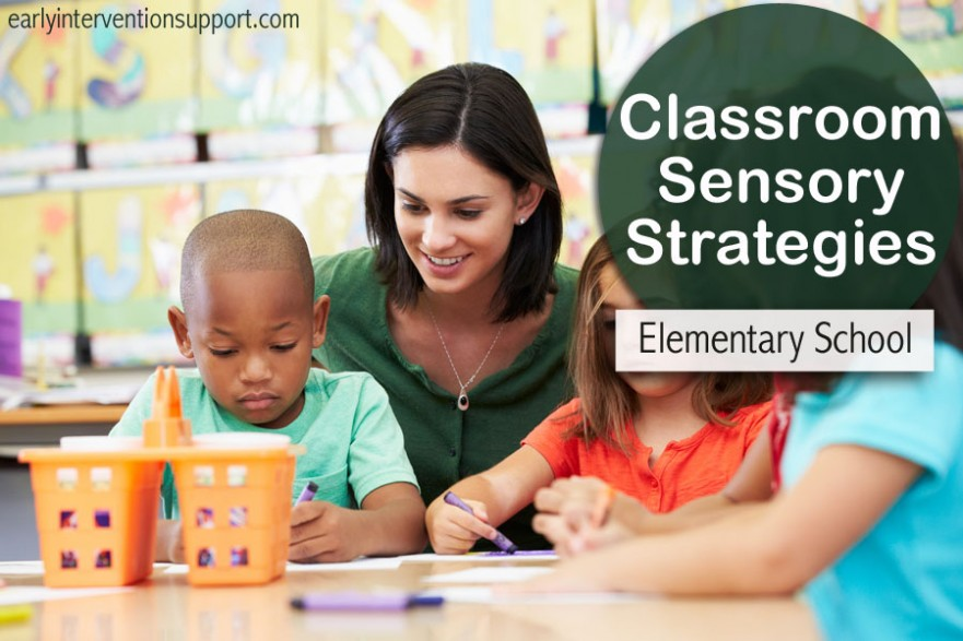 sensory strategies for elementary school