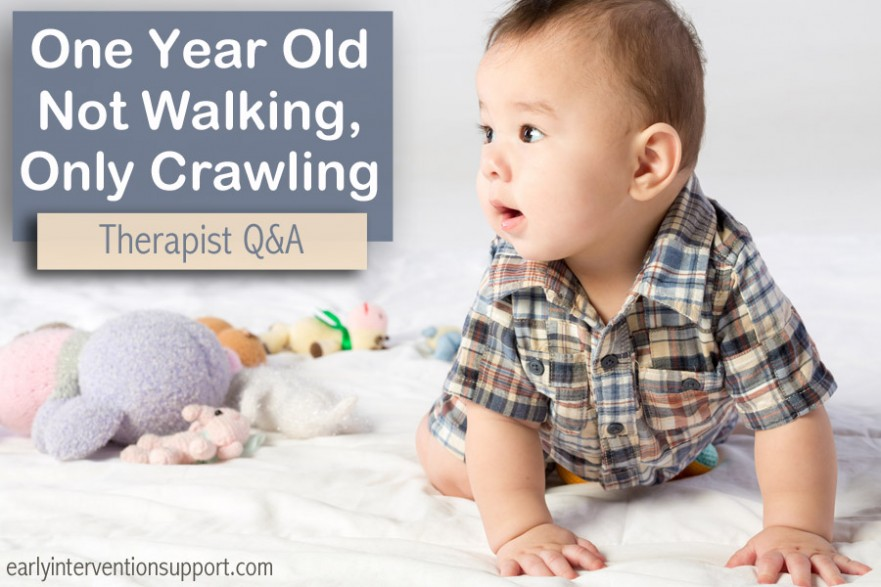 1 Year Old Not Walking or Standing