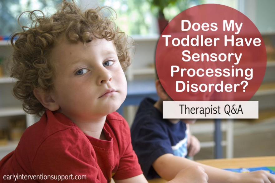 sensory processing disorder symptoms