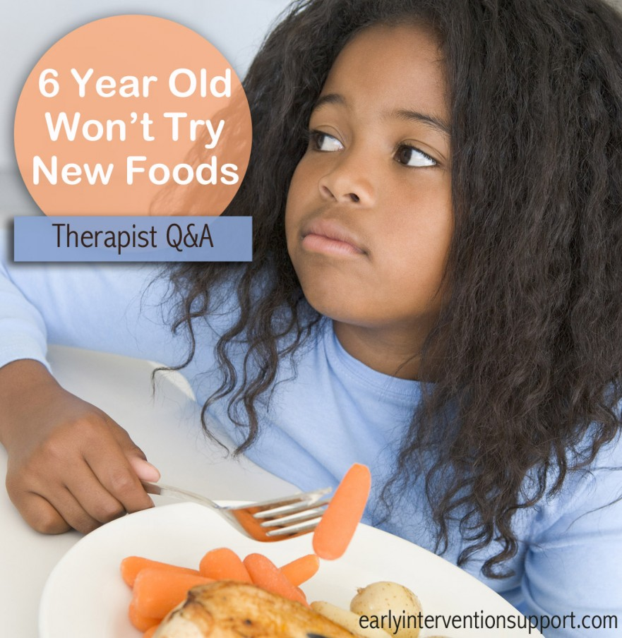 6 year old has a restrictive diet