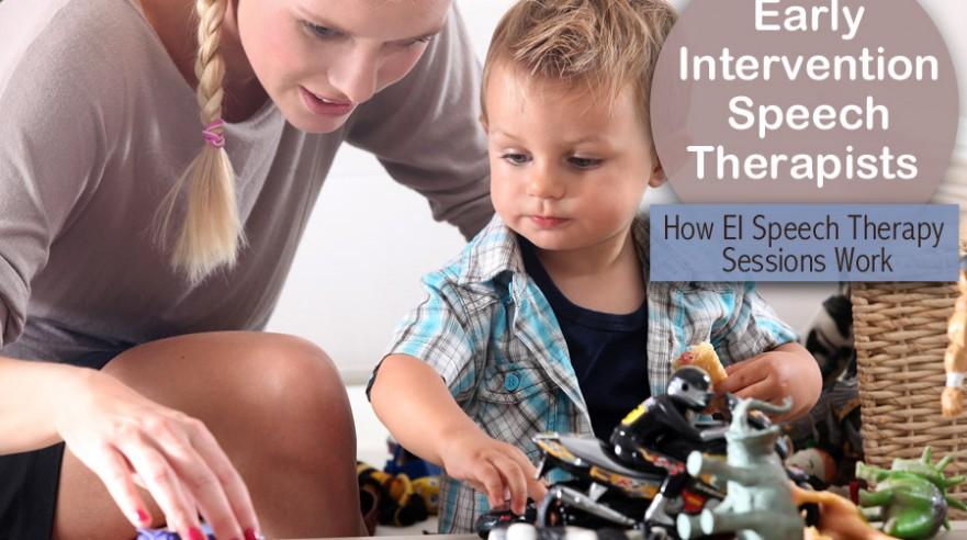 early intervention speech therapist