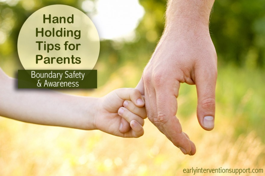 hand holding tips for toddlers