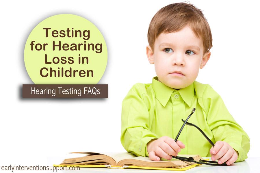 Hearing Loss In Children Hearing Testing Eis