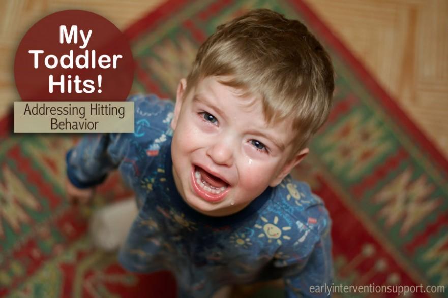 toddler hitting