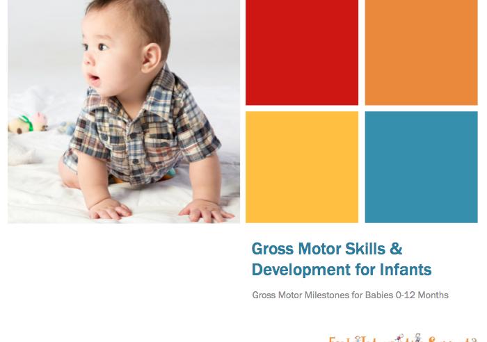 gross motor skills for infants