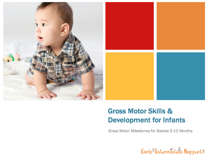 gross motor skills for infants