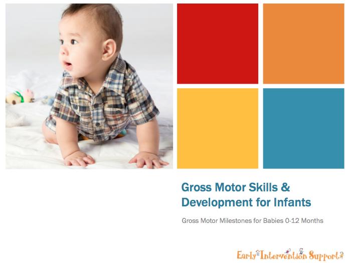 Gross Motor Skills For Infants Newborns To 12 Months Eis