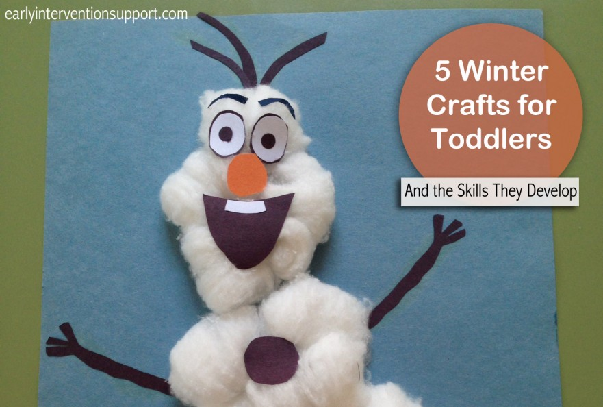 Winter Crafts - Early Intervention Support