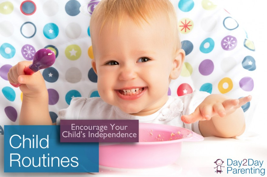 Encourage independence in children