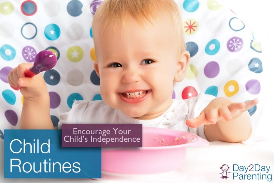 Encourage independence in children