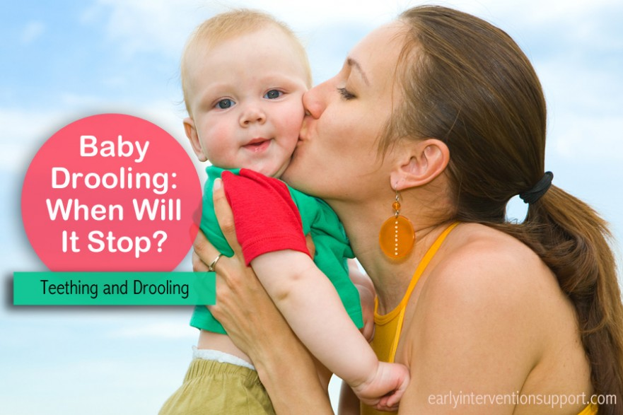 baby drooling: when will it stop?