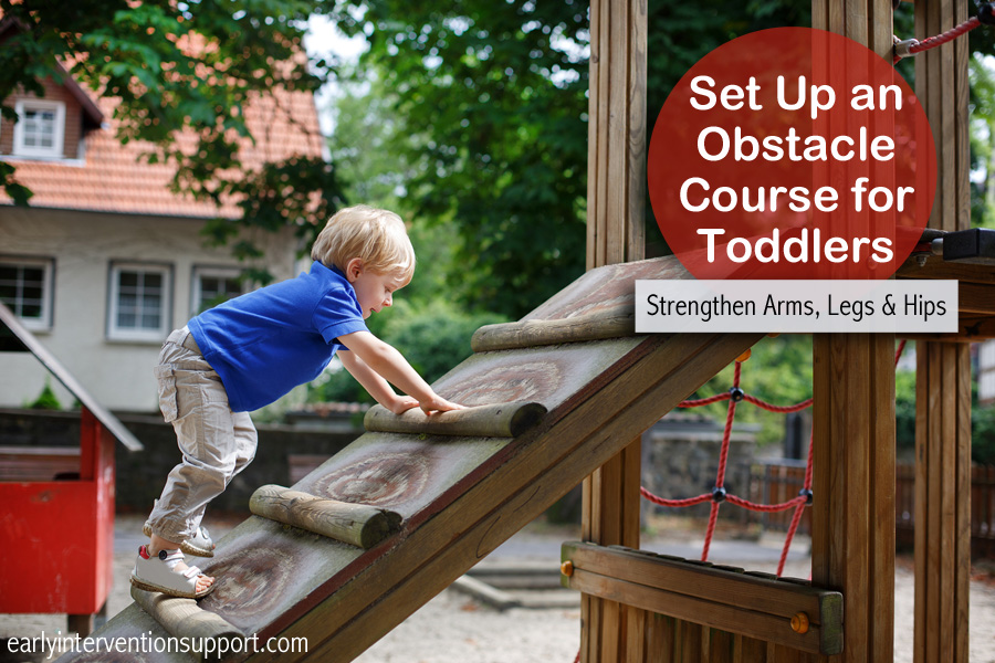 Setting Up A Toddler Obstacle Course Day 2 Day Parenting