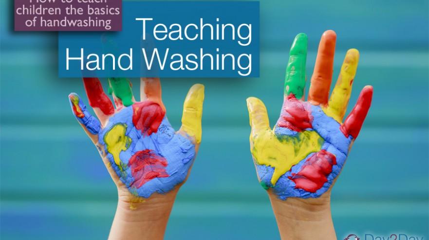 children hand washing - Day 2 Day Parenting