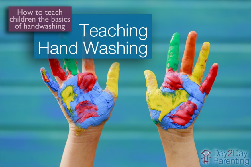 children hand washing - Day 2 Day Parenting