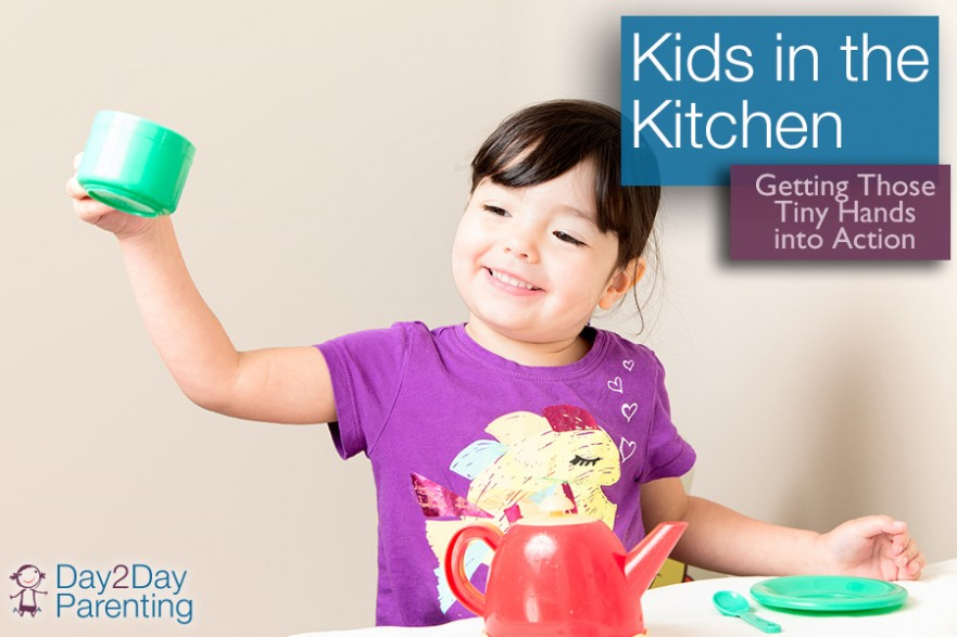 involve kids in cooking - Day 2 Day Parenting