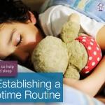Establishing a Naptime Routine