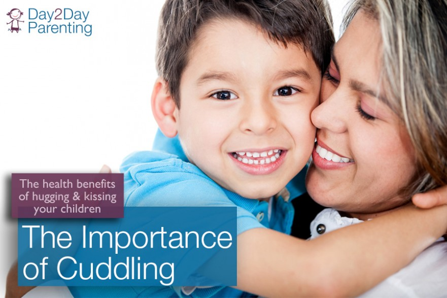 cuddling your children - Day 2 Day Parenting