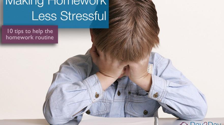 homework - day 2 day parenting
