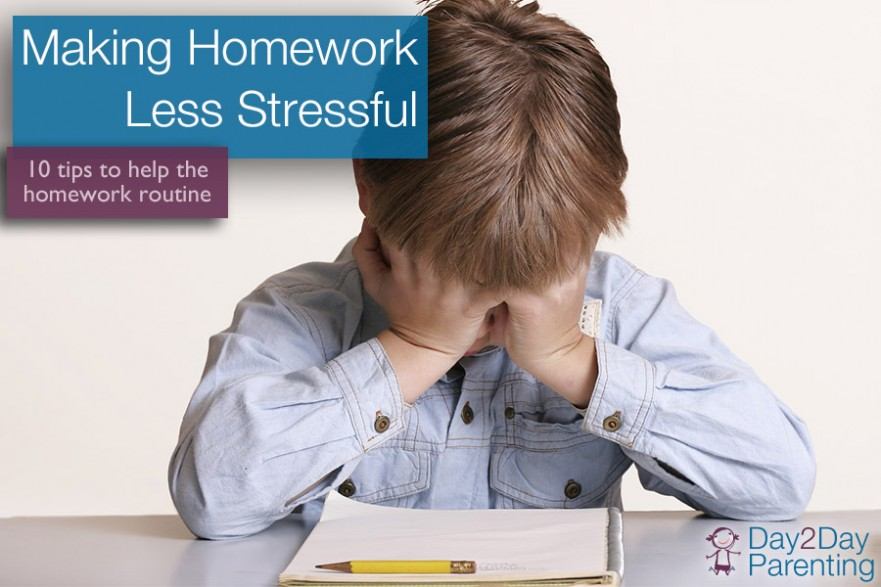 homework - day 2 day parenting