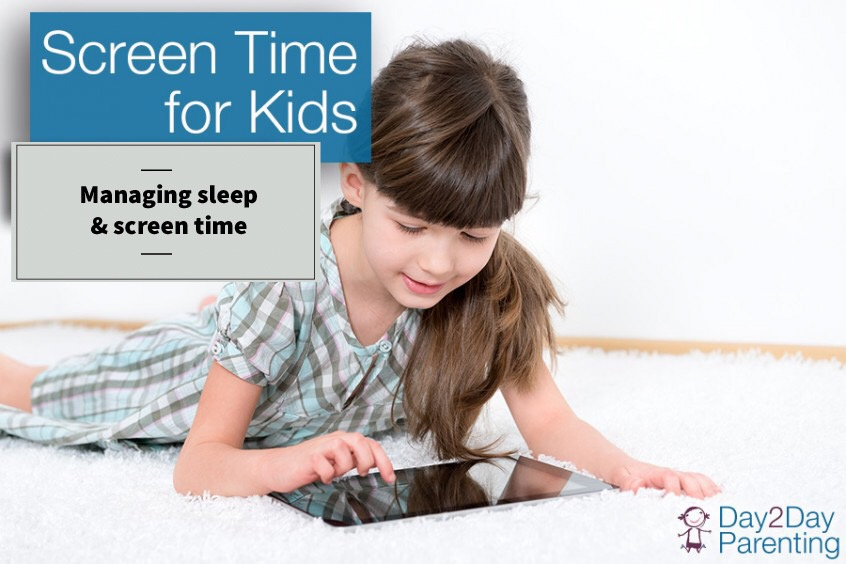 How To Help Kids Manage Sleep >> How Screen Time Affects Small Children S Sleep Habits Day